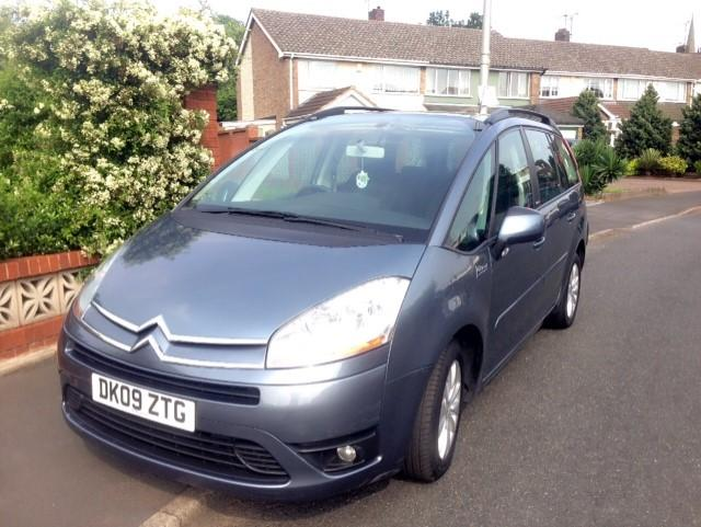 citroen c4 picasso grand exclusive hdi vtr 5dr 7 seater wednesbury dudley mobile. Black Bedroom Furniture Sets. Home Design Ideas