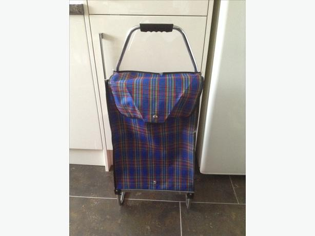 brand new lightweight shopping trolley