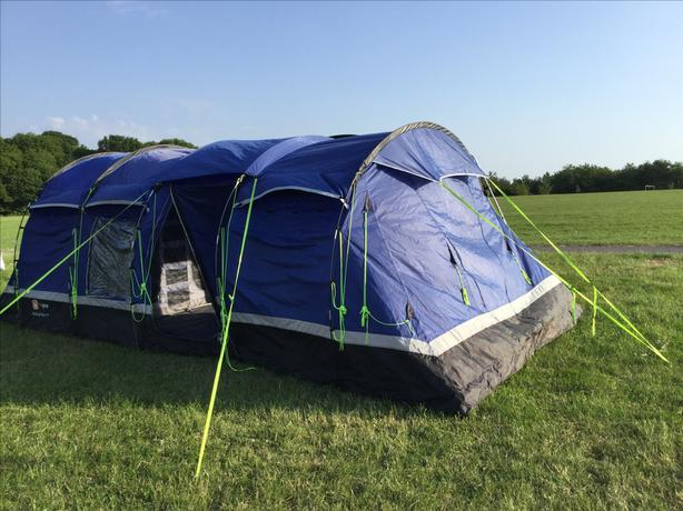 Kalahari 8 Tent Outside Black Country Region Dudley