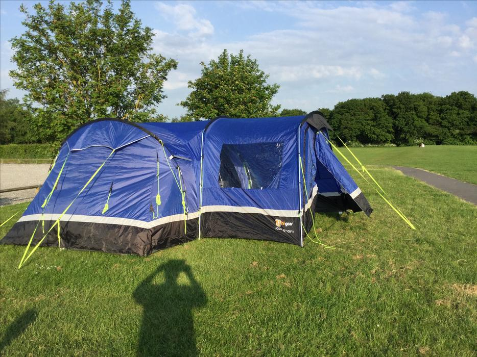 Kalahari 8 Tent Outside Black Country Region Wolverhampton