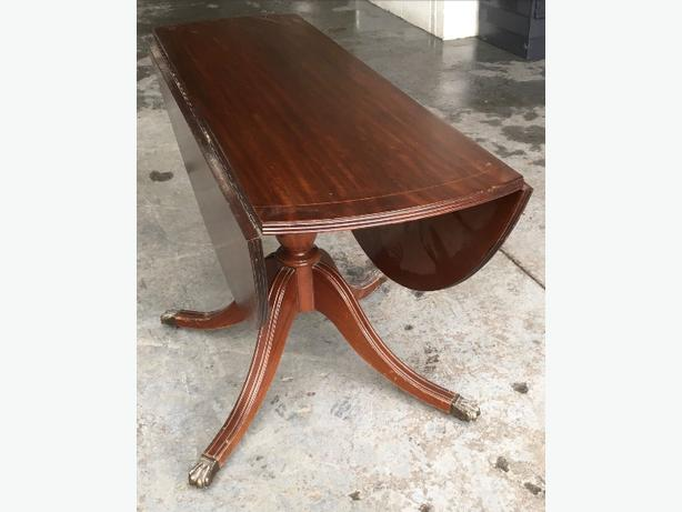 Solid Wood Folding Dining Table WE DELIVER UK WIDE  : 105648761614 from www.usedwolverhampton.co.uk size 614 x 461 jpeg 31kB