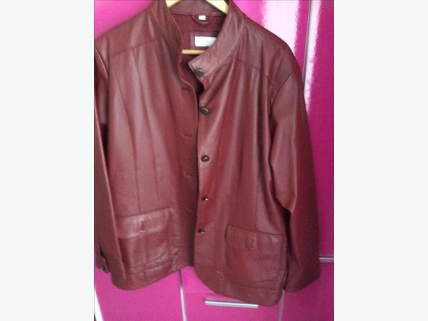 Leather Jacket Size 22