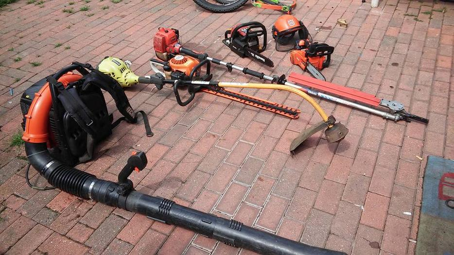 Garden tree care power tools for sale wolverhampton for Garden tools for sale uk