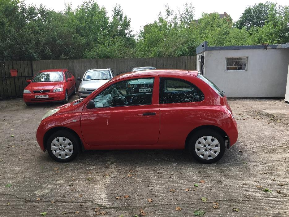 nissan micra 1 2 2004 04 reg full 12 months mot service history walsall wolverhampton. Black Bedroom Furniture Sets. Home Design Ideas