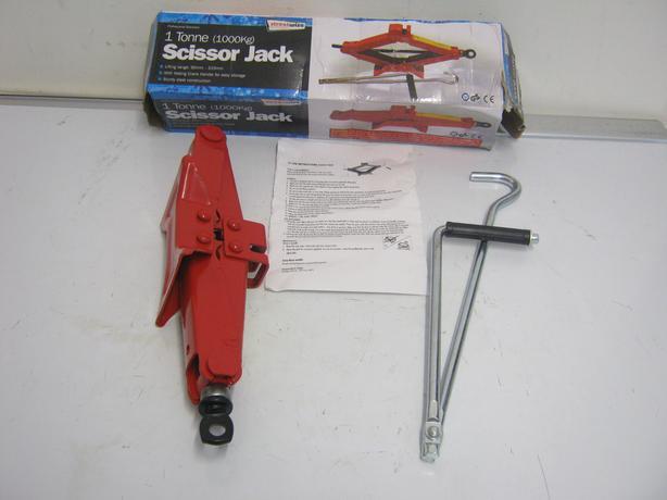 StreetWize 1 Tonne Scissor Jack 90 - 315mm