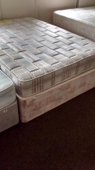 Double Divan Bed Base Plus Mattress Brierley Hill Dudley