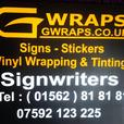Signs and vehicle livery very competitive prices