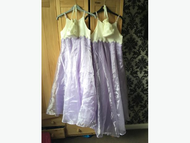 childs bridesmaid dresses & bags