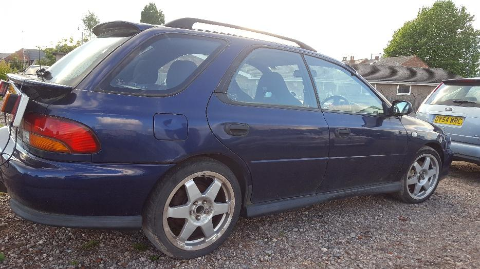 Subaru Impreza Turbo Breaking Coseley Sandwell