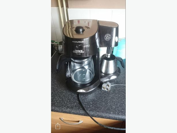 morphy richards coffee machine need gone