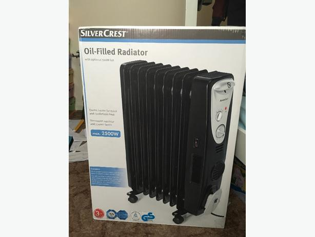 radiator from silver crest