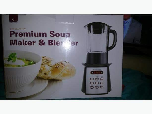 Brand new soup maker blender also makes smoothies