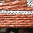 Floral Orange Rug 160 x 230cm