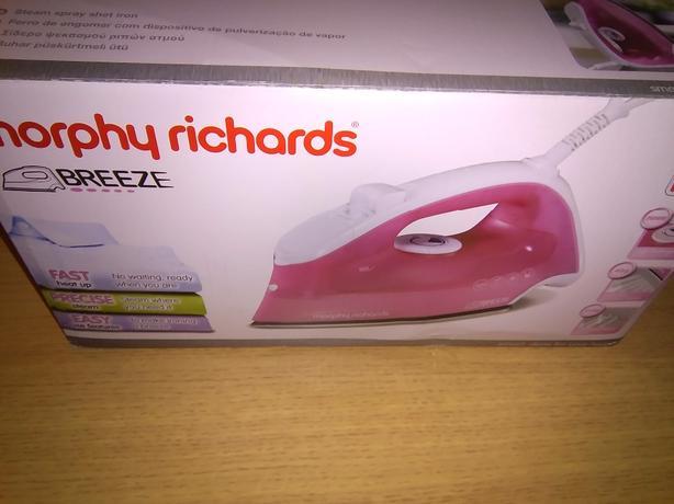morphy richards breeze iron instructions