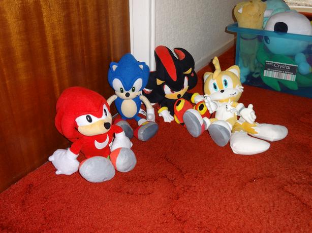Sonic the Hedge Hog & Friends Soft Toys