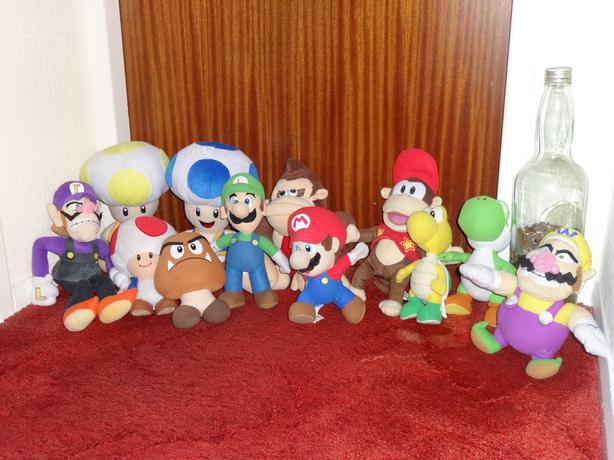 Super Mario & Friends Soft Toys
