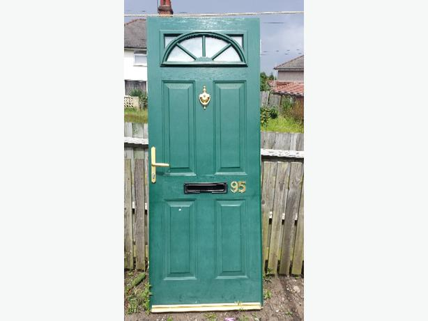 FREE: 2 Solid doors