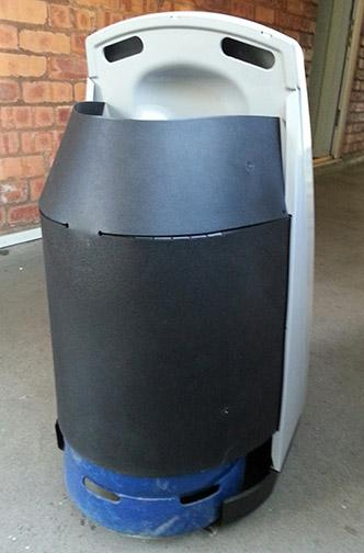 Calor Gas Heater Quot Quattro Quot By Delonghi Sandwell