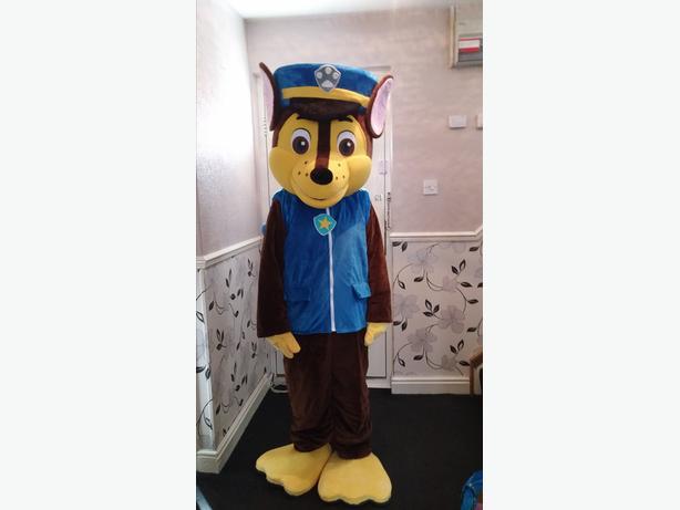 chase paw patrol mascot costume
