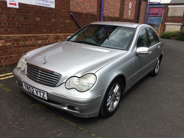 mercedes c270 cdi turbo diesel automatic low mileage wolverhampton dudley. Black Bedroom Furniture Sets. Home Design Ideas
