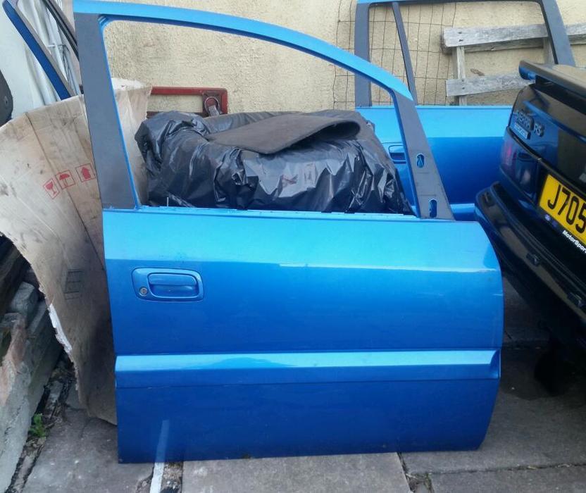 Vauxhall Zafira Gsi Z20let Breaking Arden Blue Other