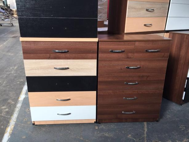 5 DRAW CHESTS FROM ONLY £50 brandnew