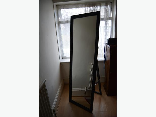 Big standing mirror by ikea like new oldbury wolverhampton for Ikea stand miroir