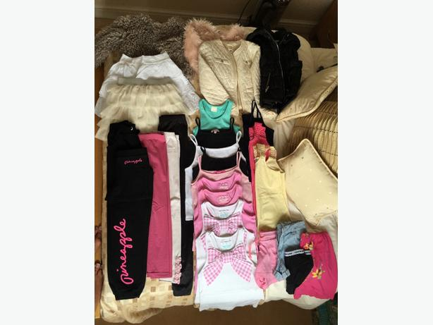 girls summer bundle! fantastic condition age 7/8 yrs