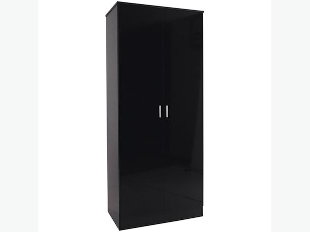 BRAND NEW BLACK WARDROBE