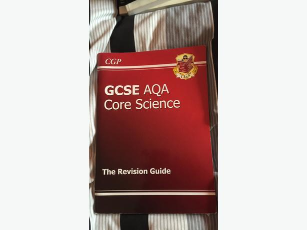 GCSE AQA CORE SCIENCE