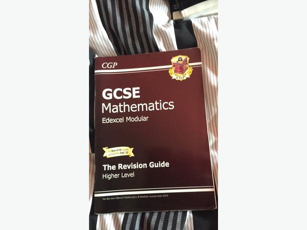 edexcel gcse maths revision guide