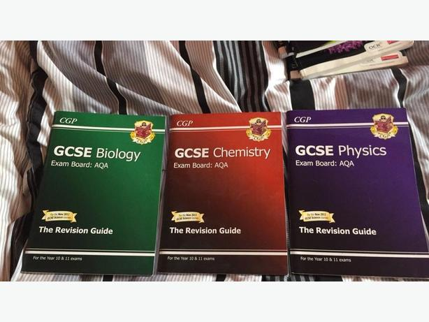 3 AQA CGP SCIENCE REVISION GUIDES