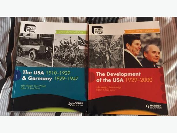 2 WJEC GCSE HISTORY REVISION GUIDES (USA and Germany topics)