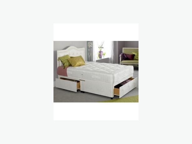 DREAM FOAM VISCO DOUBLE BED-- regal gold open sprung mattress