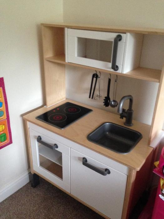 Wooden Kitchen Accessories ~ Ikea childrens wooden kitchen with accessories dudley