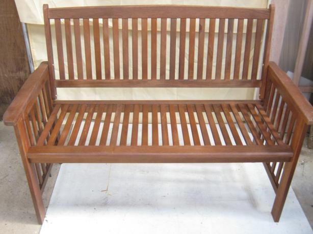 Wooden Garden Bench.
