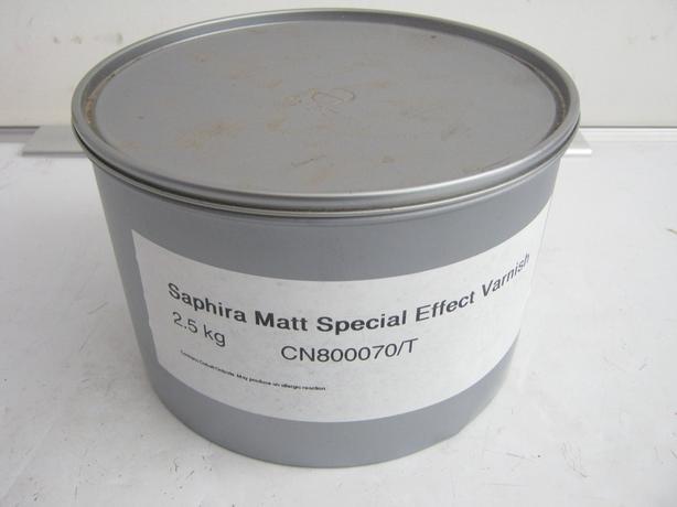 Saphira Matt Special Effect Varnish 2.5kg CN80070/T