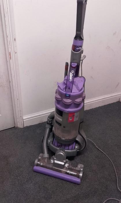 Dyson Dc14 Animal Upright Vacuum Cleaner Silver Lavendar