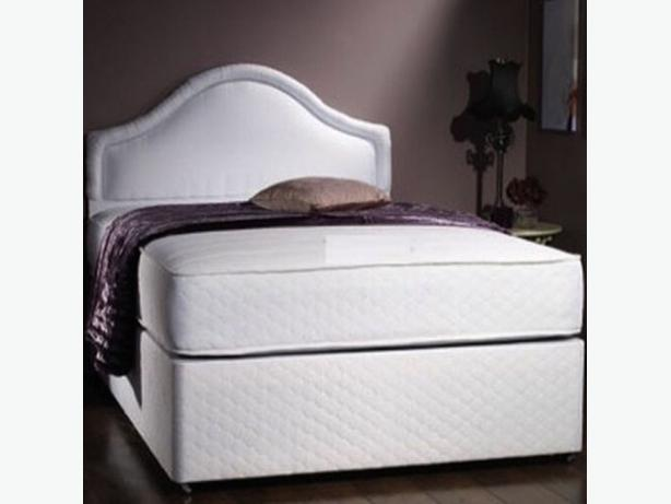 LIGHT ORTHOPAEDIC DOUBLE BED