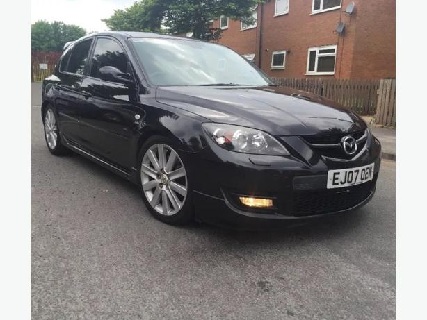2007 07 mazda 3 mps areo 2 3 turbo 5 seater in blac. Black Bedroom Furniture Sets. Home Design Ideas