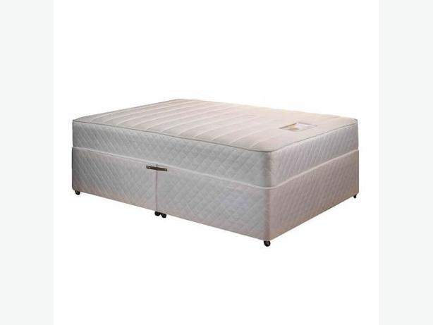 JUMBO OPEN COIL MATTRESS BED COMPLETE BED