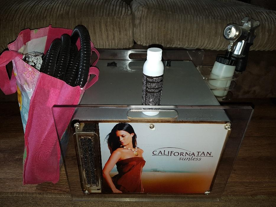 california spray machine