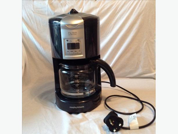 Morphy Richards Coffee Maker 47094 Instructions : Morphy Richards filter coffee machine DUDLEY, Wolverhampton