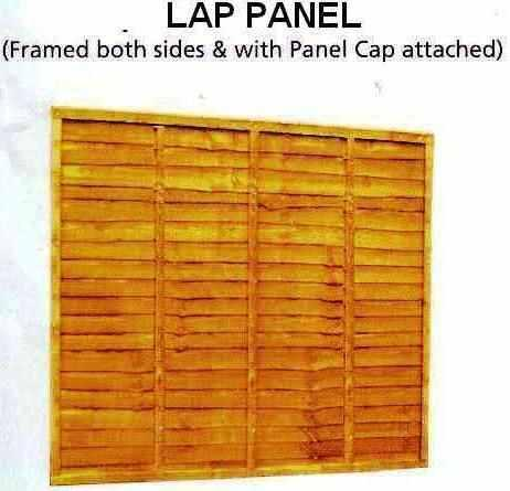 fence panels concrete and wooden posts gravel boards. Black Bedroom Furniture Sets. Home Design Ideas