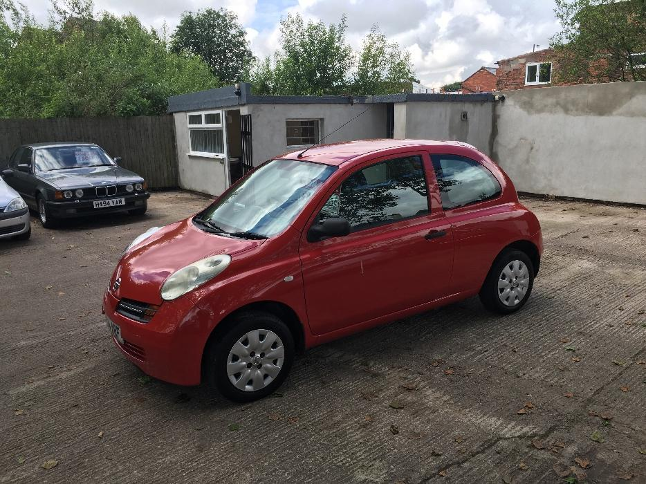 nissan micra 1 2 2004 04 reg full 12 months mot service history walsall sandwell. Black Bedroom Furniture Sets. Home Design Ideas