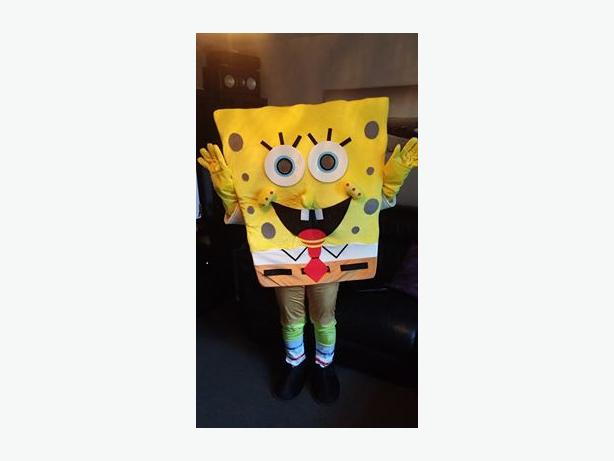 spongebob mascot costume hire