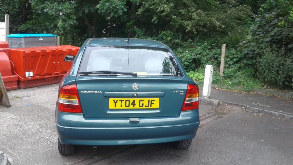 Vauxhall Astra 1 6 Club 8v 5door Hatchback 04 Plate