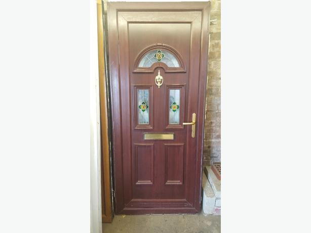 Upvc doors in wolverhampton mobile for Brown upvc door