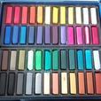 12-Block Watercolour Set, 48 Soft Pastels, 24 Oil Pastels