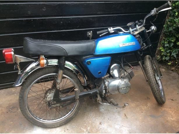 Suzuki A 100 1978